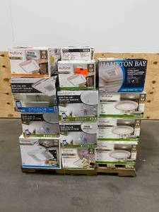 Pallet of Bathroom Fans (various brands and styles)
