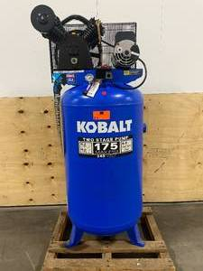 KOBALT 80-Gallon Two Stage Electric Vertical Air Compressor (Working Perfect)