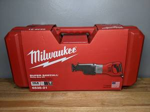Brand New Milwaukee 15 Amp 1-1/4 in. Stroke Orbital Super Sawzall Reciprocating Saw with Hard Case