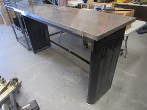 HUSKY WORKBENCH WITH STAINLESS STEEL TOP