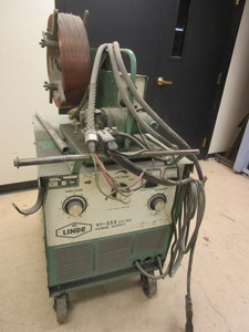 LINDE VI-252 POWER SUPPLY AND MIG-35 WIRE FEEDER WELDER