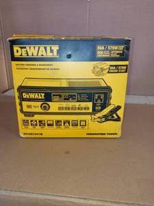 30 Amp Automotive 12-Volt Bench Battery Charger by dewalt- open box not used - SEE PICTURES
