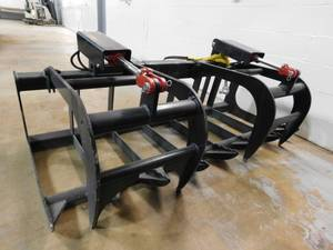 NEW Skid Steer Grapple Attachment