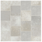 360 SF of Luxury Vinyl Plank - Triversa ID Tile - Square One Sea Pearl **High End Cork Backing