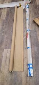 2 Veneta Custom Roller Shades 75.5 x 100 , New