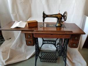 Antique Singer 27 Treadle Sewing Machine