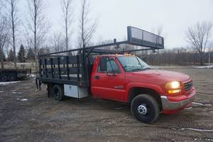 2006 GMC 3500 Flatbed Dually Truck