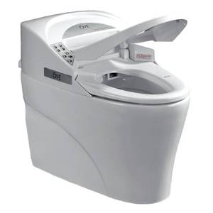 OVE Decors Smart 1-piece 1.28 GPF Single Flush Elongated Toilet and Bidet with Seat in White 667580 - Brand New