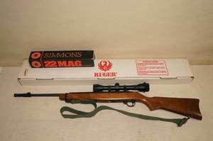 Ruger 10/22 .22 LR Semi Auto Rifle with Simmons Scope