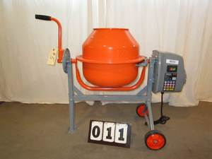 Yardmax Electric Concrete Mixer
