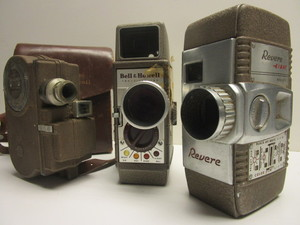 8 MM MOVIE CAMERAS
