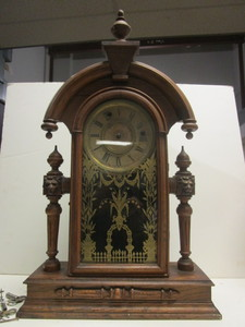 VINTAGE WM L. GILBERT JUPITER MANTLE CLOCK, 1879