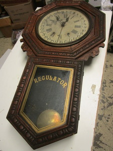 VINTAGE NEW HAVEN CLOCK CO. CLOCK