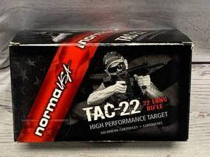 500 Rounds .22 Ammunition Ammo