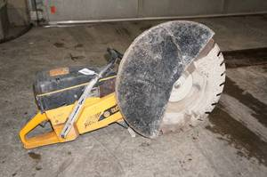 "Partner K1250 Gas Concrete Cut-Off Saw - 20"" Blade"