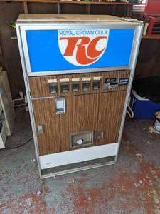 Vintage RC Cola Beverage Machine