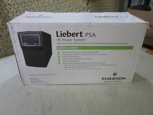 (D-2) Liebert PSA AC Power System...