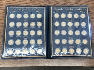 1999-2008 24K Gold Plated Quarters