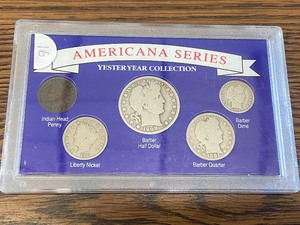 1900-1911 Yesteryear Silver Coin Collection