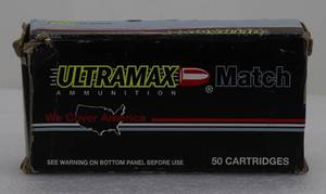 50 UltraMax MATCH GRADE 44Mag 240gr HJP Cartridges