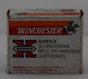 20 Winchester Super-X 44 Mag 240ge HSP Cartridges