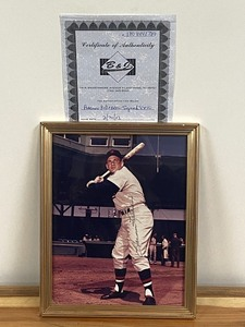 "Autographed ""Harmon Killebrew"" Photograph"
