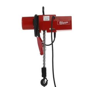 Milwaukee 2 Ton 20 ft. Electric Chain Hoist 9573