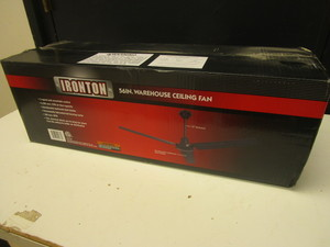 "IRONTON 56"" WAREHOUSE CEILING FAN - NEW"