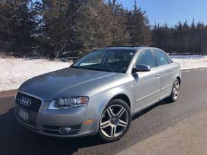 2007 Audi A4 2.0T Quattro - 2 Owners - NEWER TIMING BELT - 133,724 miles
