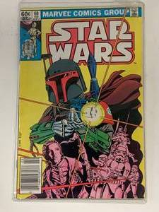 1983 Star Wars Comic Book #68 First Appearance Of Mandalorian (A 9.8 Sold For $2995.)