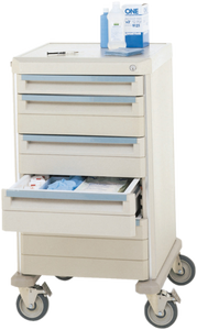 WOW MSRP $2800 HIGH QUALITY METRO STARSYS 5 DRAWER MEDICAL CRASH SUPPLY CART - EXCELLENT CONDITION! HAS STORAGE SECTIONS IN EACH DRAWER AND YEP I WANT THIS!