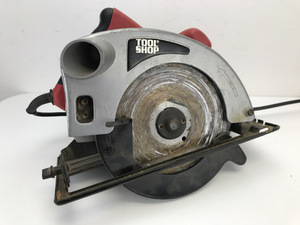 "Tool Shop - 7-1/4"" Electric Circular Saw"