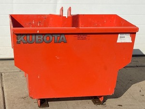 Kubota Three-Point Weight Box
