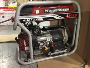 9000-Watt Gasoline Powered Electric Start Portable Generator by A-iPower