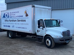 2014 International 24ft Box Truck