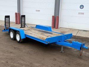 FAIM Tandem-Axle Equipment Trailer