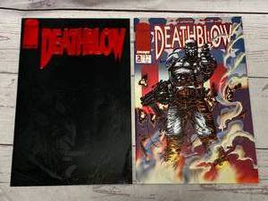 Death Blow Comic Books Issue #1 & 2