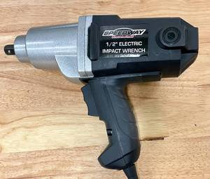 "Speedway 110 Volt 1/2"" Electric Impact Wrench"