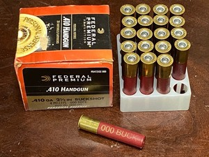 (1) 20-Round Box Of .410 Personal Defense