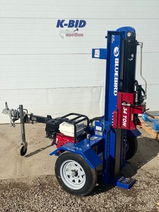 "2020 Bluebird ""LS34"" Towable Hydraulic Log Splitter"