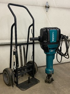 "Makita AVT ""HM812"" Commercial Electric Jack-Hammer"