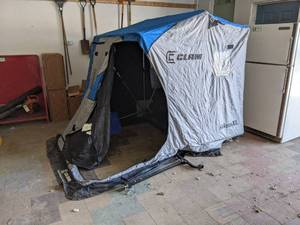 Clam Nanook XL Portable Ice Fishing House