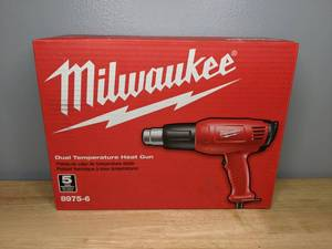 Brand New Milwaukee 11.6-Amp 120-Volt Dual Temperature Heat Gun
