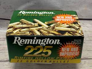 225 Rounds .22 Ammo Ammunition