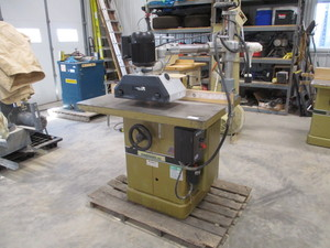 Powermatic Shaper  27 with Delta Powerfeed