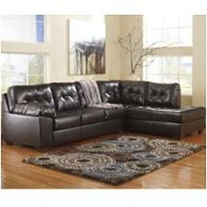 Signature Design by Ashley, Alliston 2-Piece Sectional with Chaise Left  - LAF SOFA SET-2010166 - BRAND NEW - NO RESERVE!