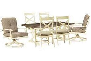Signature Design by Ashley, Preston Bay 7 Piece Outdoor Dining Set, APG-P460-7PC- BRAND NEW - NO RESERVE!