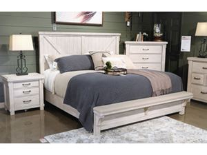Signature Design by Ashley, Ashley Brashland Queen Panel Bed, APK-B740-QPB - BRAND NEW - NO RESERVE!