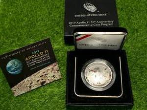 Limited Edition Apollo 11 Silver Proof Dollar