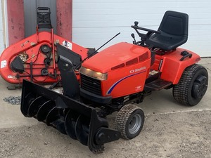 Simplicity Lawn Tractor With Snow Blower Package